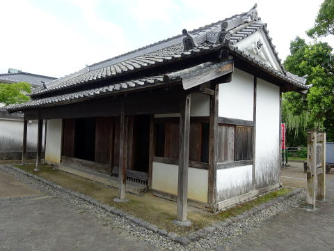掛川城の番所
