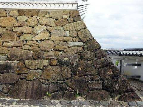 掛川城の石垣