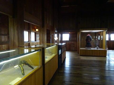 掛川城天守の展示物