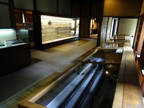 掛川城御殿の展示物