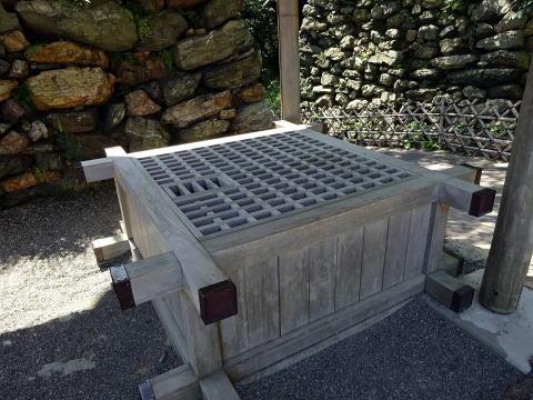 浜松城の井戸
