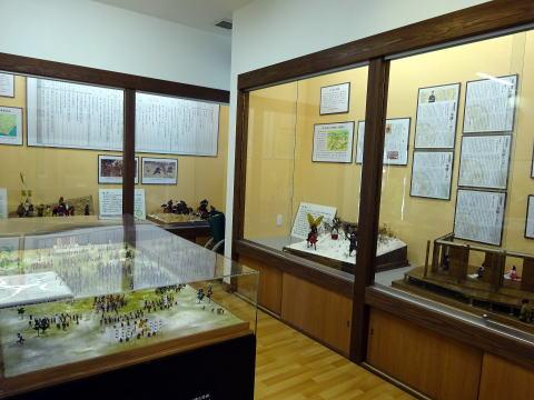 犀ヶ崖資料館の展示物