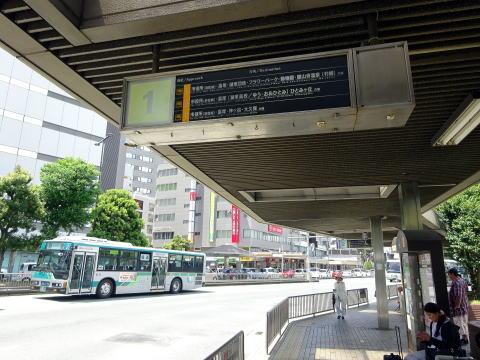 JR浜松駅1番バス乗り場