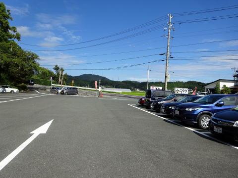 浜松市の龍潭寺駐車場